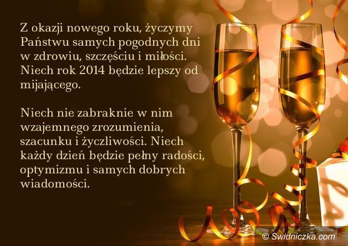 Świdnica: Szczęśliwego Nowego Roku!