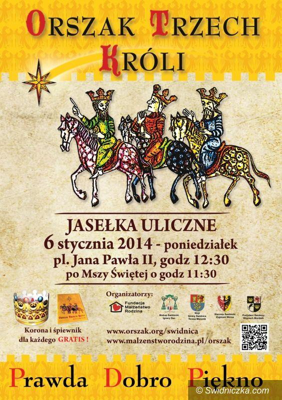 Świdnica: Orszak Trzech Króli przejdzie ulicami Świdnicy