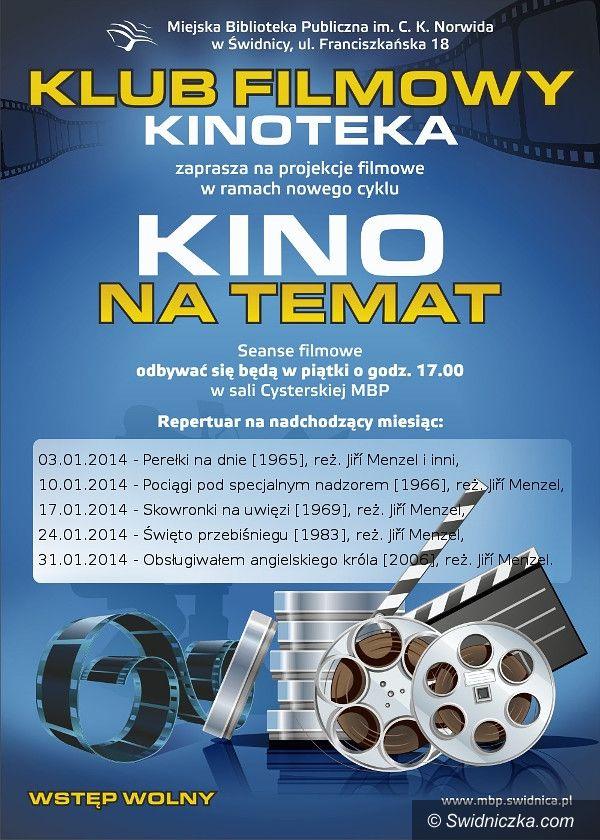 Świdnica: Projekcje filmowe w MBP