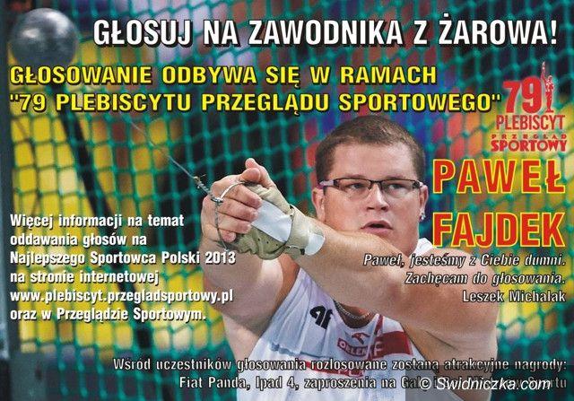 Kraj: Zagłosuj na Pawła Fajdka!