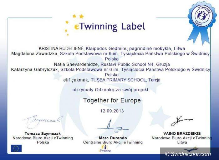 Świdnica: SP 6 w Świdnicy w międzynarodowym programie E–Twinning plus