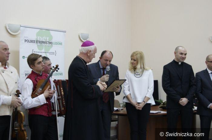 Świdnica: Spotkanie opłatkowo–noworoczne w świdnickim PSL–u