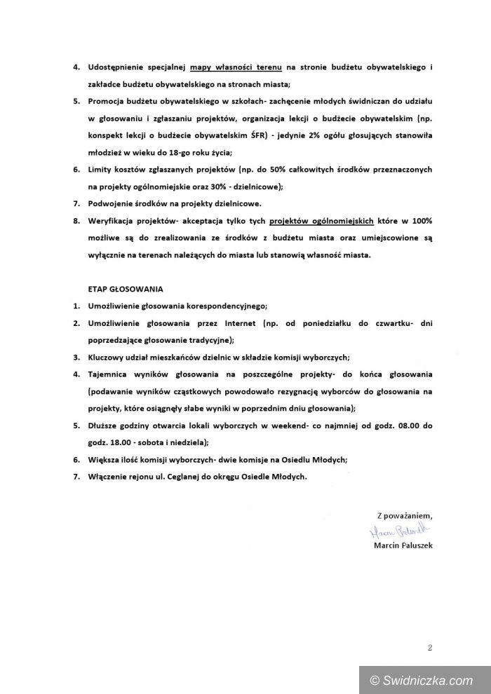 Świdnica: Budżet obywatelski – podsumowanie pierwszej edycji