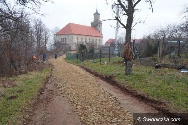 Dobromierz: Remont drogi w Dobromierzu
