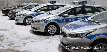 Świdnica: Nowe samochody trafiły już do Komendy Powiatowej Policji w Świdnicy