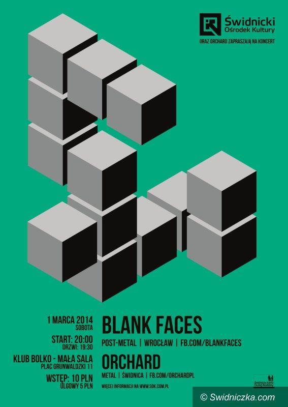 Świdnica: ŚOK i Orchard zapraszają na koncert Blank Faces
