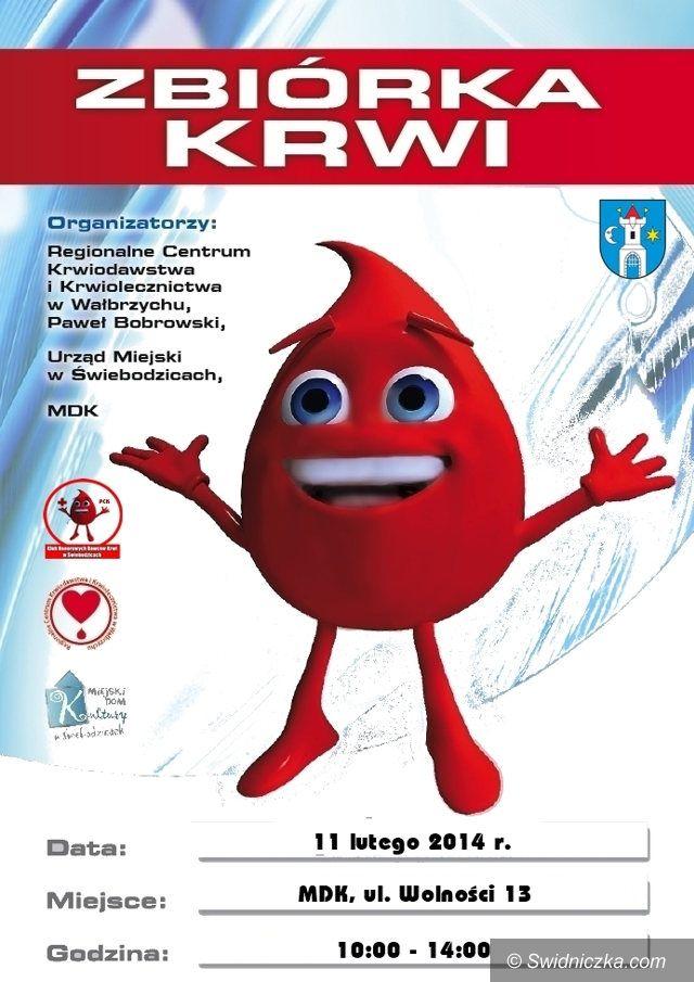 Świebodzice: Oddaj krew na Walentynki i wygraj niespodziankę