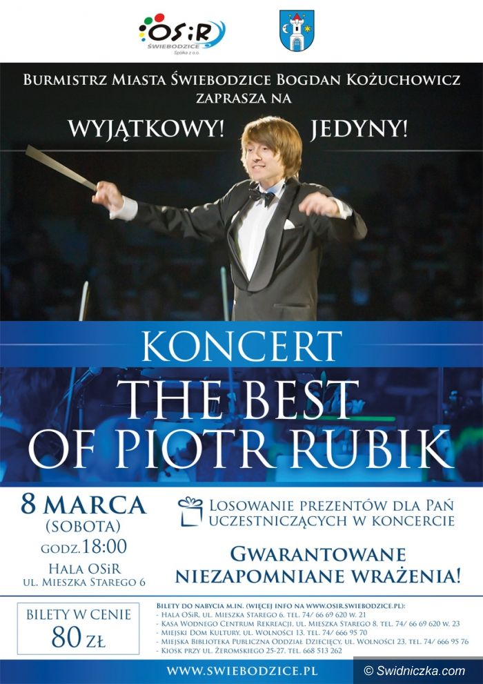 Świebodzice: The best of Piotr Rubik – koncert w Świebodzicach.