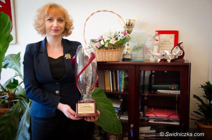 powiat świdnicki: Wyróżnienie za budowanie zasad współpracy