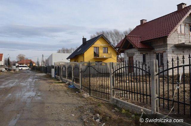 Strzegom: Nowa ulica w Strzegomiu