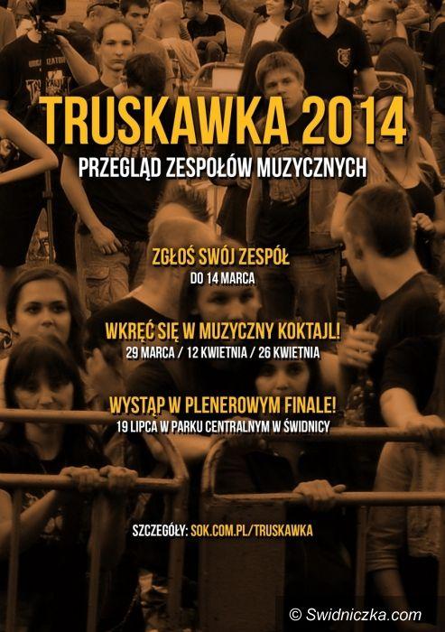 Świdnica: Nabór zespołów do Truskawki rozpoczęty