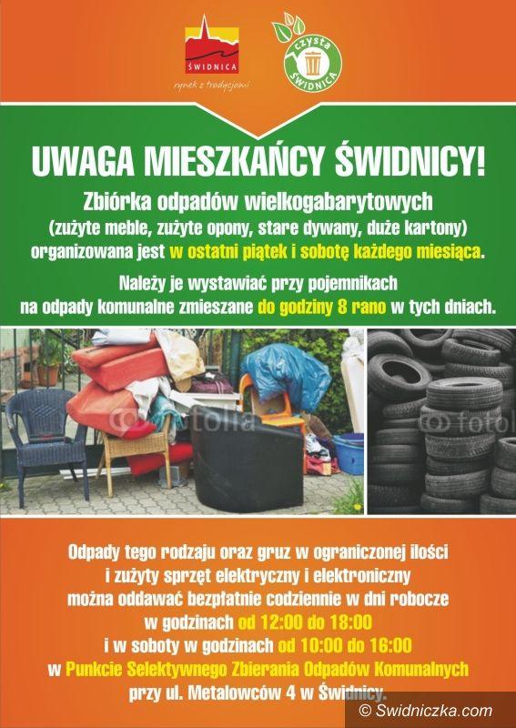 Świdnica: Zbiórka odpadów wielkogabarytowych