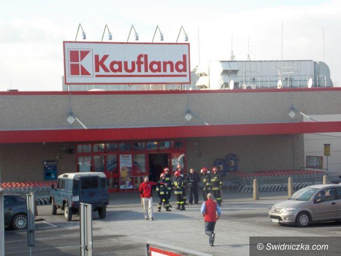 Wałbrzych/Kraj: Alarm bombowy w sklepach sieci Kaufland