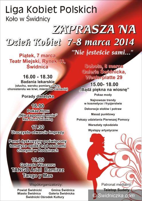 Świdnica: Zaproszenie na Dzień Kobiet