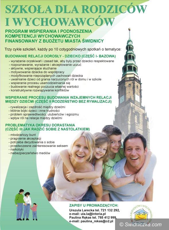 Świdnica: Szkoła dla rodziców i wychowawców –  trwają zapisy