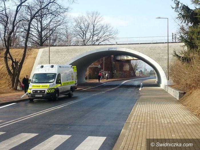 Świdnica: Nowy wiadukt w Świdnicy od poniedziałku