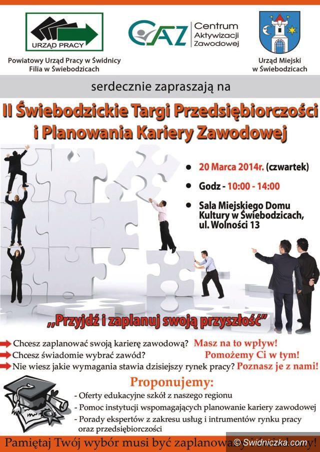 Świebodzice: II Świebodzickie Targi Przedsiębiorczości i Planowania Kariery