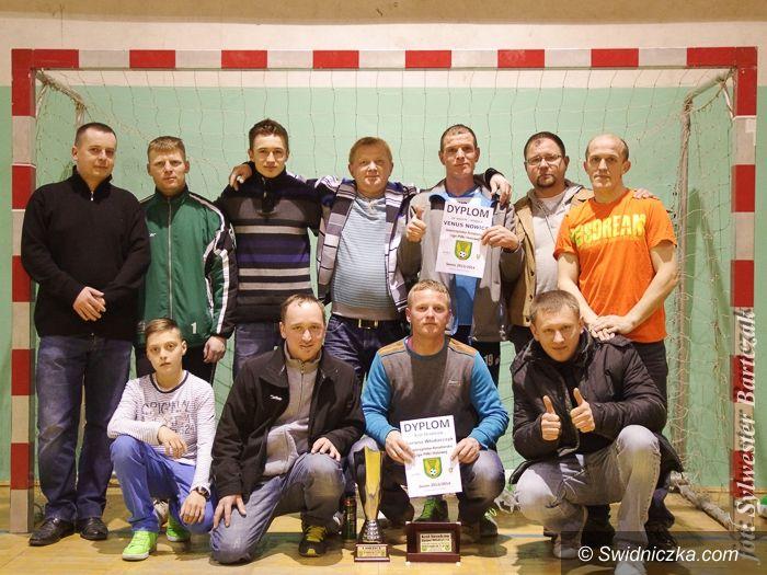 Jaworzyna Śląska: Venus Nowice mistrzem Jaworzyńskiej Amatorskiej Ligi Piłki Halowej