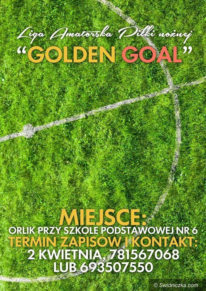 Świdnica: Rusza druga edycja Golden Goal