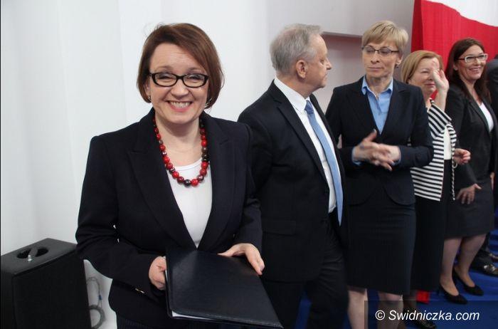 Region: Poseł Anna Zalewska  wysoko na liście do PE