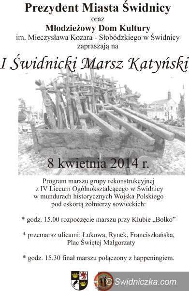 Świdnica: Katyń – pamiętamy – obchody w Świdnicy