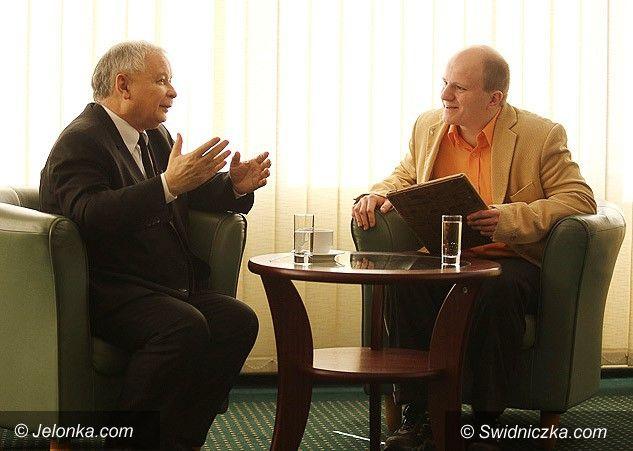 Jelenia Góra: Jarosław Kaczyński dla Swidniczki.com