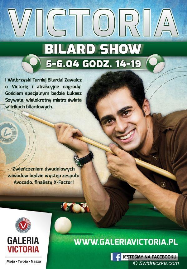 Region: Bilard Show w Galerii Victoria