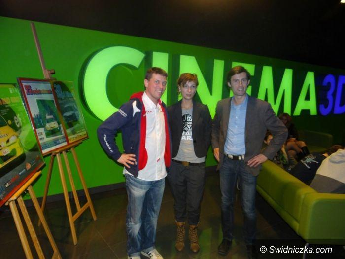 Świdnica: Rajd Świdnicki Krause – konferencja w Cinema 3D