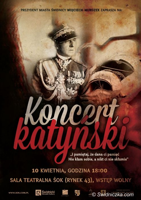 Świdnica: Katyń – pamiętamy – szczegóły obchodów w Świdnicy