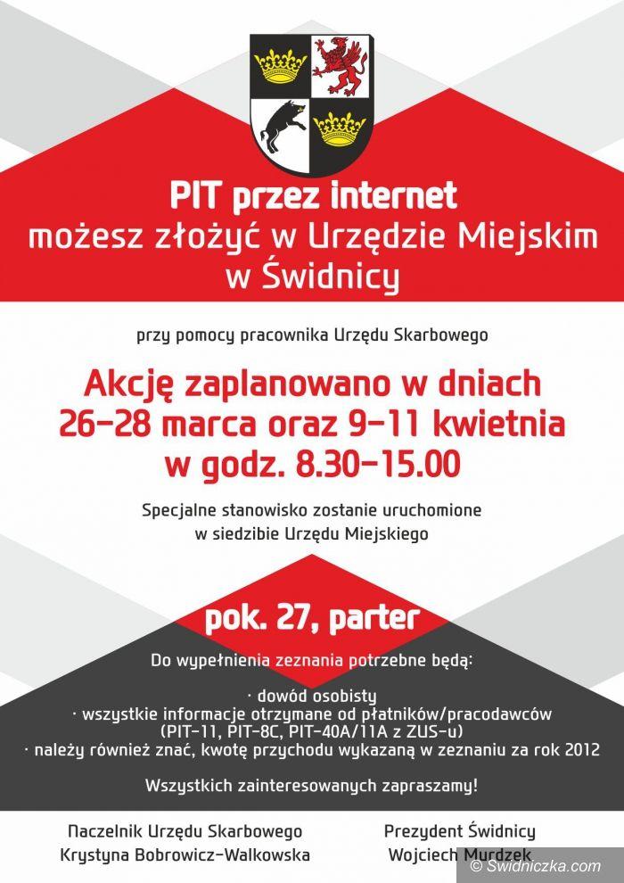 Świdnica: PIT przez internet druga część akcji w Urzędzie Miejskim w Świdnicy