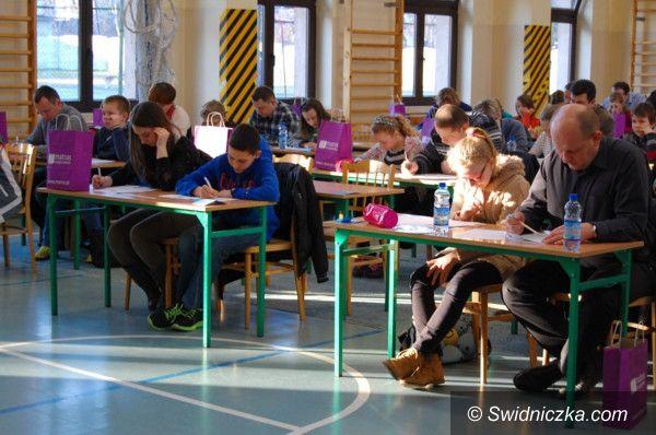 Świdnica: III Świdnicki Rodzinny Konkurs Matematyczny