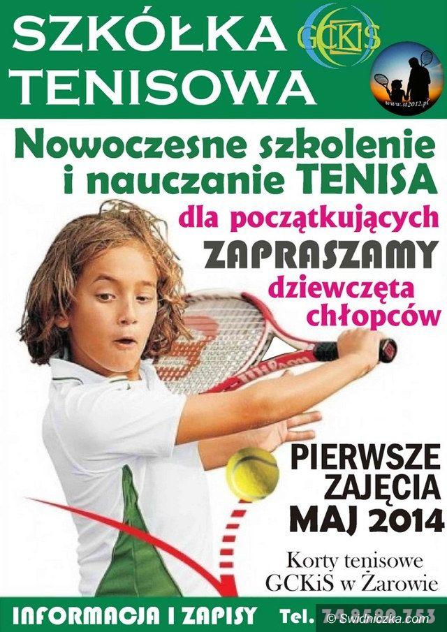 Żarów: Szkółka tenisowa w Żarowie
