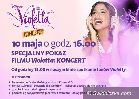 Świdnica: Event z Violettą