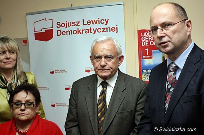 Wałbrzych: Leszek Miller z wizytą w Wałbrzychu