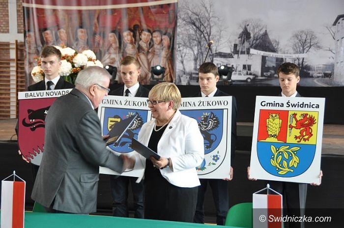 Gmina Świdnica/Polska: Żukowo nowym miastem partnerskim