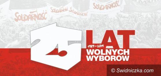Świdnica: Obchody 25. rocznicy wyborów z 4 czerwca 1989 roku