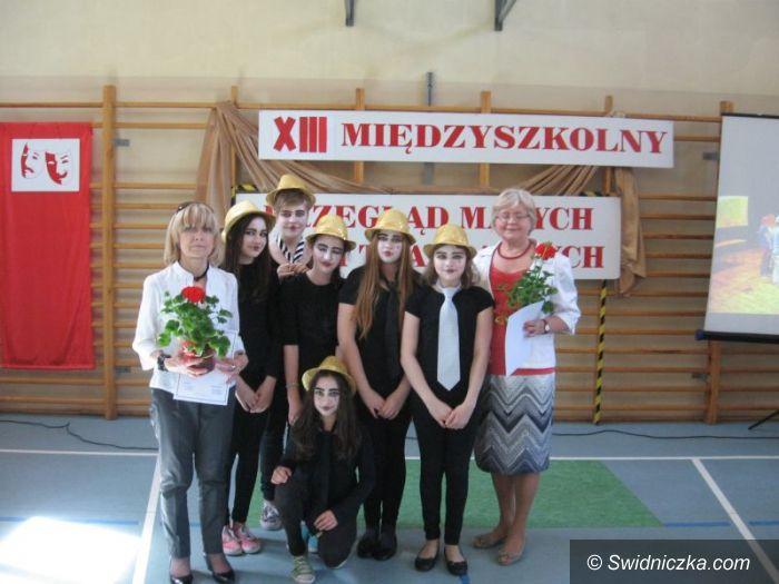 Świdnica: Podsumowano XIII Międzyszkolny Przegląd Małych Form Teatralnych