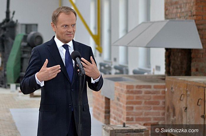 Wałbrzych: Miliony na rewitalizację Wałbrzycha obiecał premier Tusk