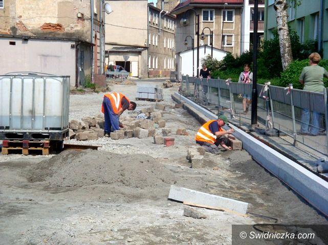 Strzegom: Trwa przebudowa ulic