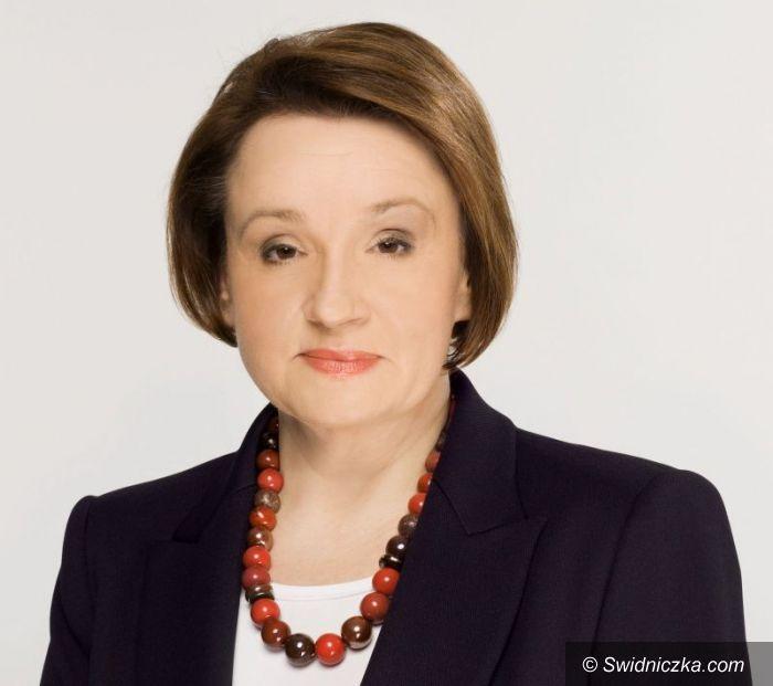 Świdnica/Region: Anna Zalewska zadowolona z wyniku wyborczego do PE