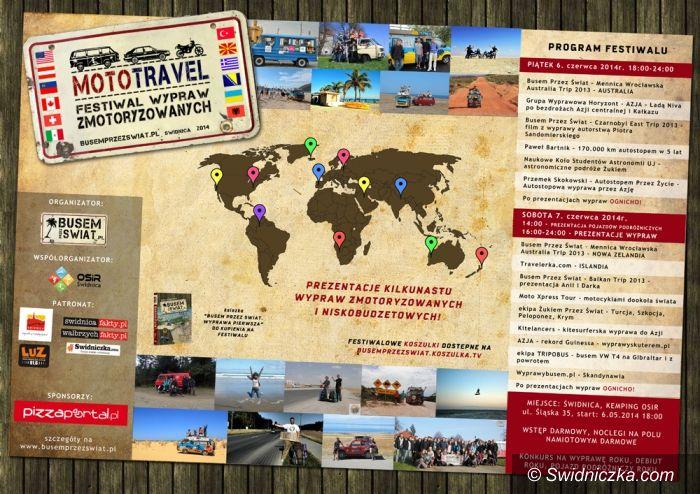 Świdnica: Zapraszamy na tegoroczny festiwal podróżniczy Mototravel w Świdnicy