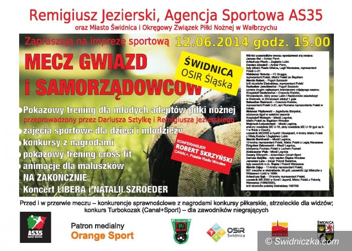 Świdnica: Piłkarskie gwiazdy w Świdnicy i barażowe mecze o awans do CLJ!