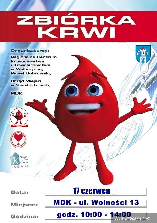 Świebodzice: Czerwcowe zbiórki krwi