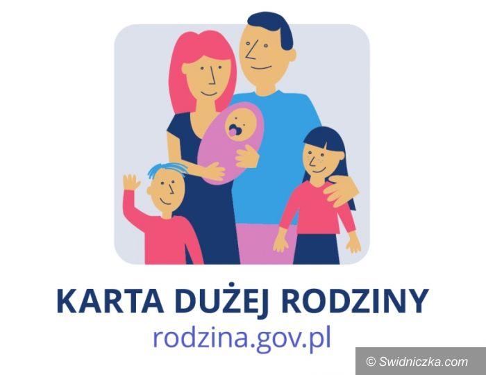 Świdnica/Kraj: Krajowa Karta Dużej Rodziny w Świdnicy