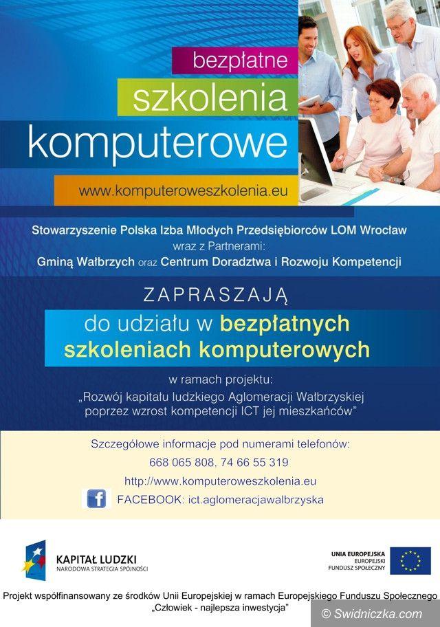 Żarów: Bezpłatne szkolenia komputerowe dla mieszkańców gminy Żarów