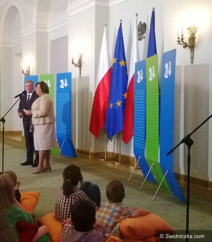Świdnica/Warszawa: Prezydent RP: Podziękowania za Świdnicką Kartę Dużej Rodziny