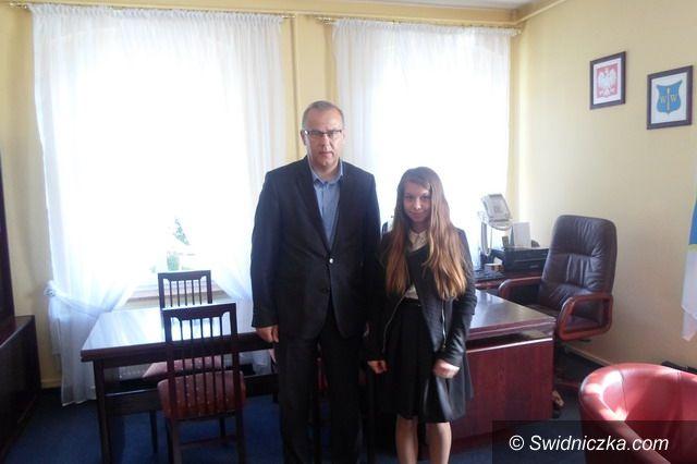 Gmina Dobromierz: Marysia Drewniak – młodym wójtem
