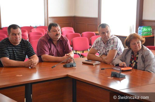 Strzegom: Rozmawiali o scaleniach w gminie Strzegom