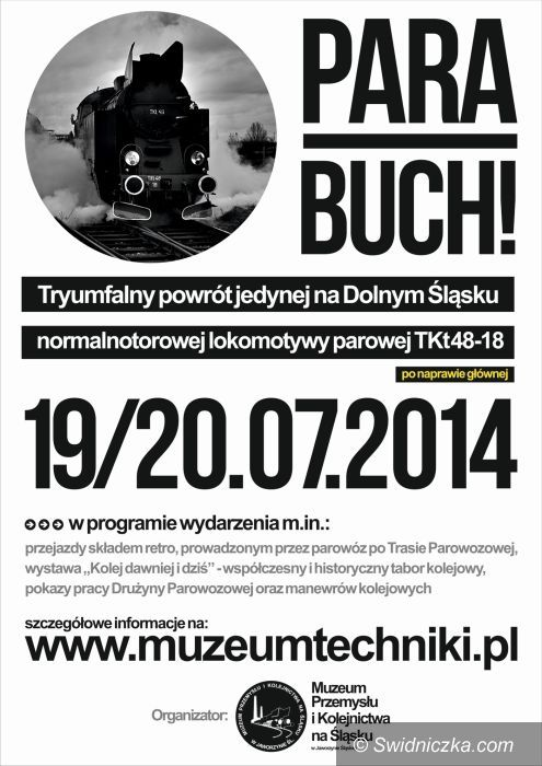 Jaworzyna Śląska: Para Buch! Triumfalny powrót lokomotywy