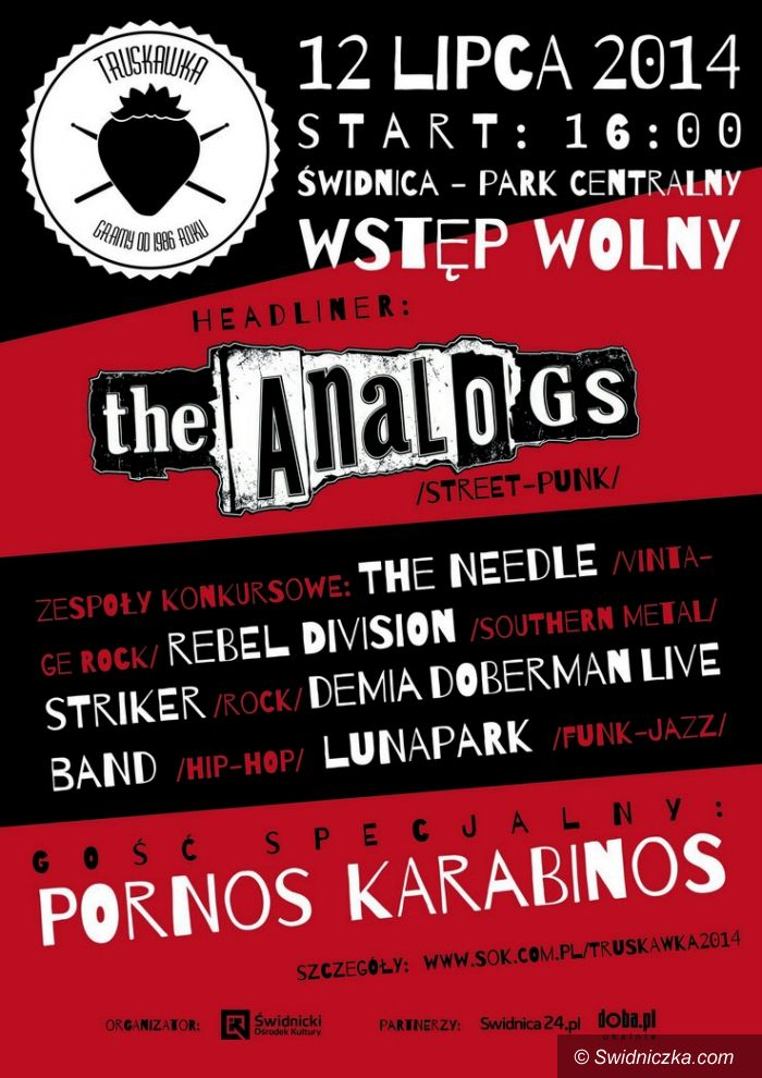 Świdnica: Truskawkowe koncerty w Parku Centralnym w Świdnicy